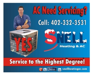omaha air conditioning repairs snell advertisement