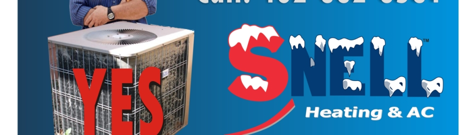 omaha air conditioning repairs snell ad