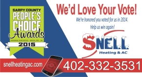 Omaha neb best heating and cooling company snell 2015